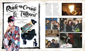 RUDE, CRUDE &amp; TATTOOED SHOW PRESS